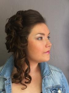 gala kapsel. Color, hairstyling & make-up