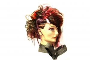 Color, cut & make-up